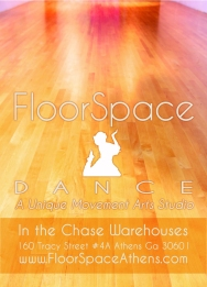 for Floorspace Dance Studio in Athens GA