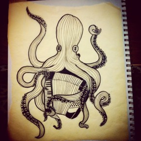 Octopus with Accordion
